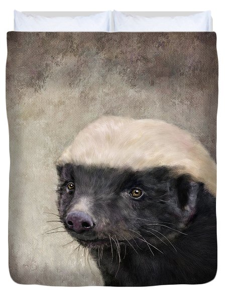 Honey Badger Duvet Cover