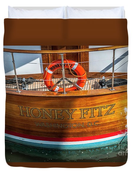Honey Fitz Duvet Cover