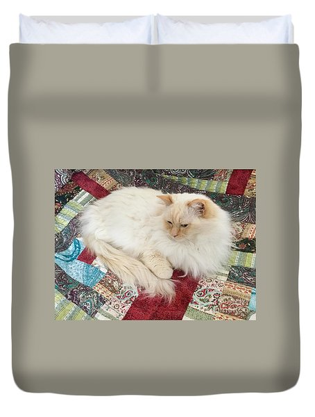 Honey My Helper Duvet Cover