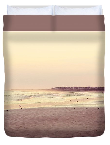Duvet Cover featuring the photograph Honeymoon by Amy Tyler
