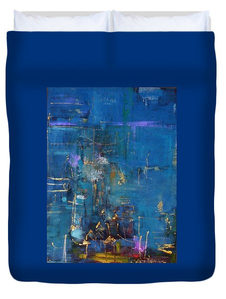Hong Kong Duvet Cover