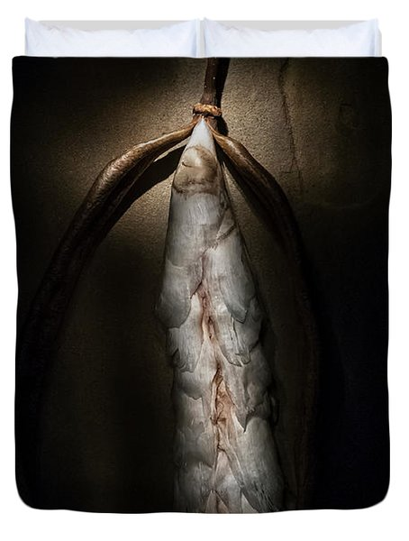 Hong Kong Orchid Seed Pod #3 Duvet Cover