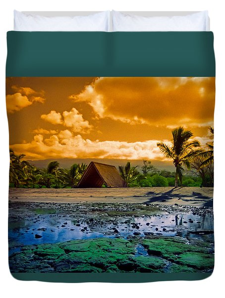 Honokohau Duvet Cover