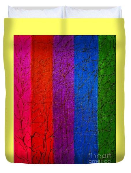 Honor The Rainbow Duvet Cover