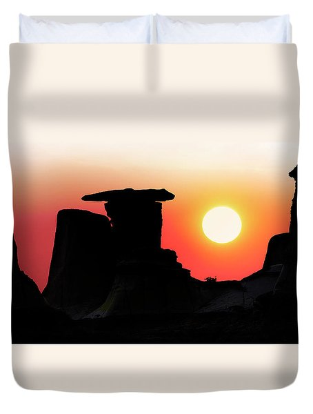 Hoodoo Sunrise Duvet Cover
