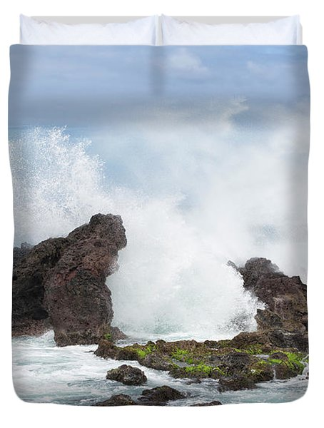 Hookipa Point Duvet Cover