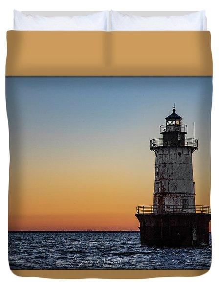 Hoopers Island Sunset Duvet Cover