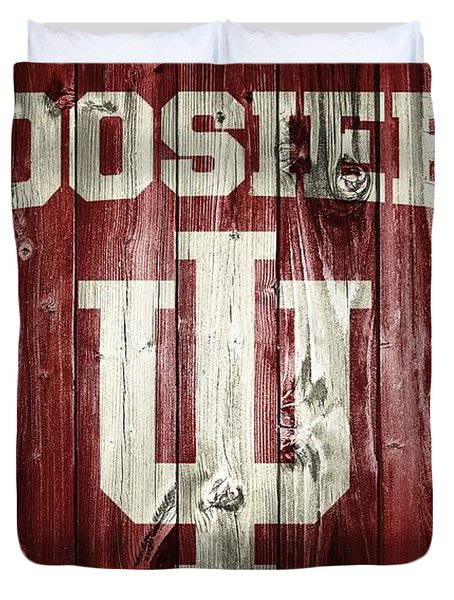 Hoosiers Barn Door Duvet Cover
