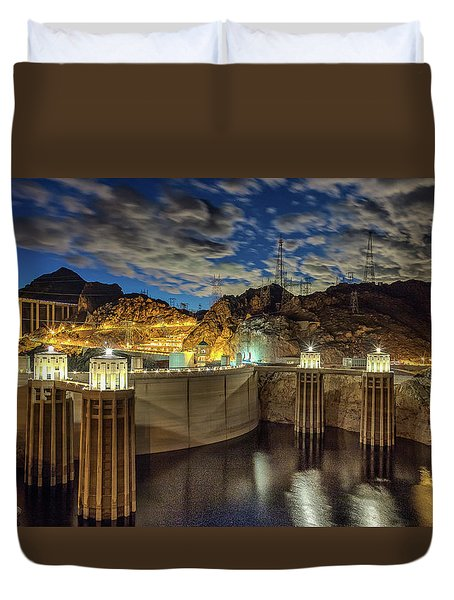 Hoover Dam Duvet Cover