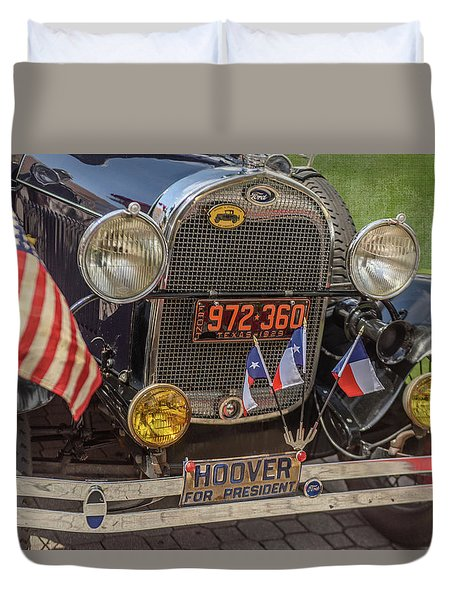 Hoover Era Ford Duvet Cover