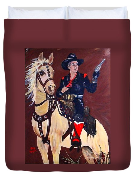 Hopalong Duvet Cover