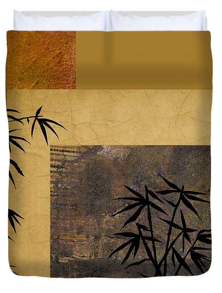 Hope And Bamboo Duvet Cover