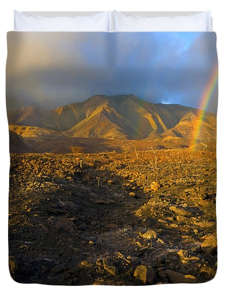Hope From Desolation Duvet Cover