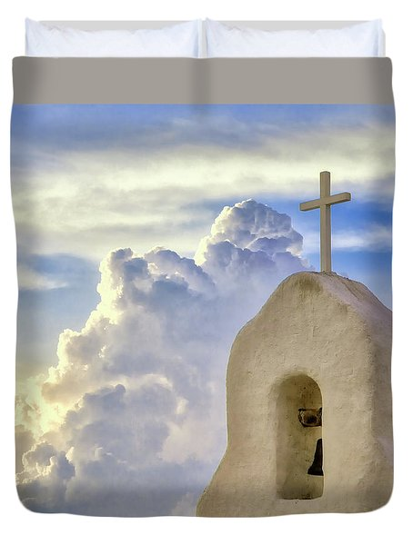 Hope In The Storm Duvet Cover