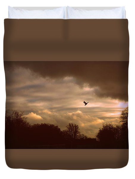 Duvet Cover featuring the photograph Hope by Jessica Jenney