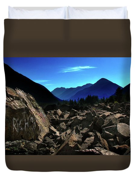 Duvet Cover featuring the photograph Hope by John Poon