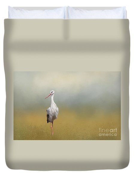 Hope Of Spring Duvet Cover