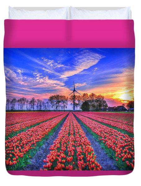 Hope Of Spring Duvet Cover