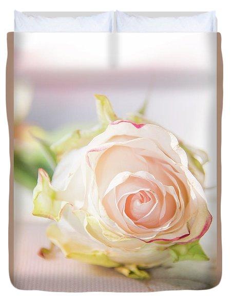 Hope Rose Duvet Cover by Pamela Williams