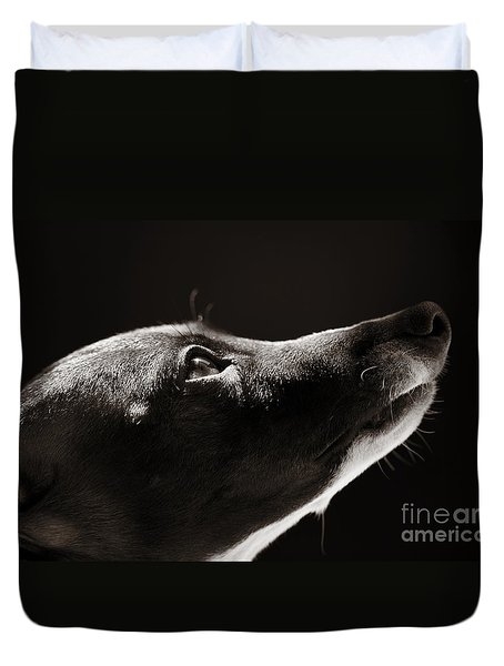 Duvet Cover featuring the photograph Hopeful by Angela Rath