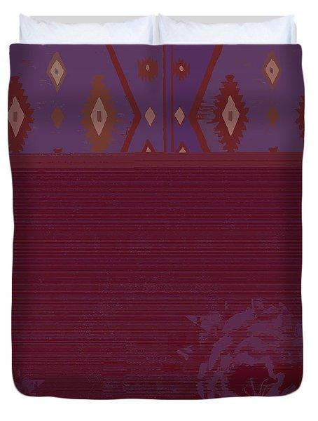 Hopi Rose Duvet Cover