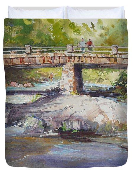 Hopper Bridge Creek Duvet Cover