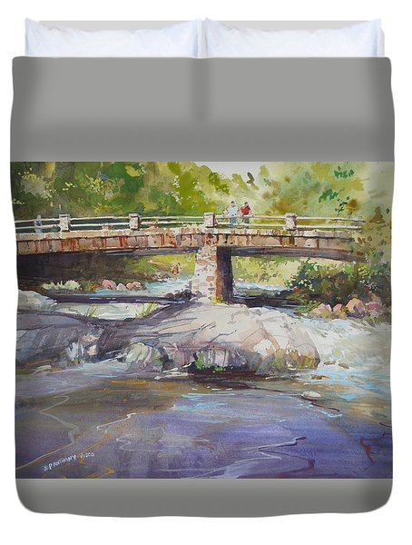 Hopper Bridge Creek Duvet Cover