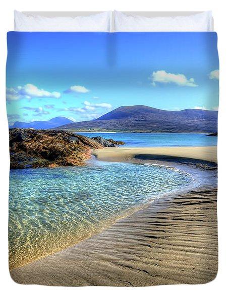 Horgabost - Isle Of Harris Duvet Cover