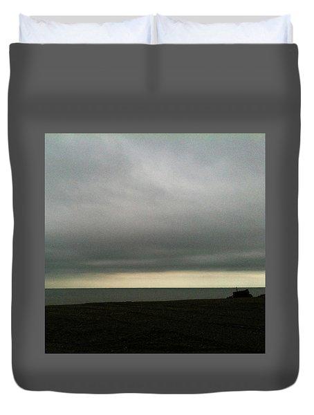 Horizon Light Duvet Cover by Anne Kotan