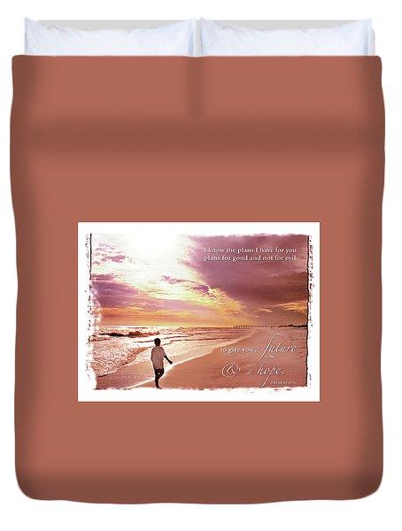 Horizon Of Hope Duvet Cover