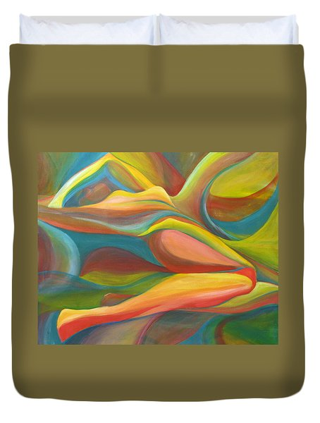 Horizon Peace Will Come Duvet Cover