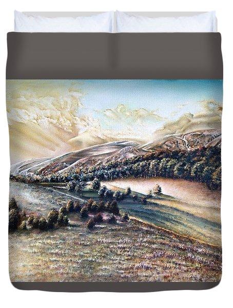 Horizons Duvet Cover
