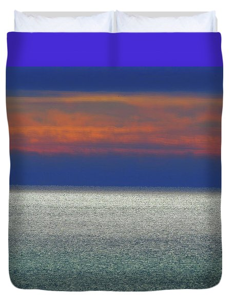 Horizontal Sunset Duvet Cover