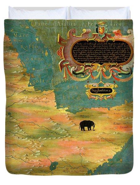 Horn Of Africa, Ethiopia And Somalia Duvet Cover