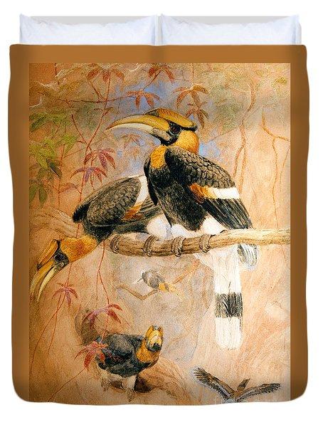 Hornbill  Duvet Cover