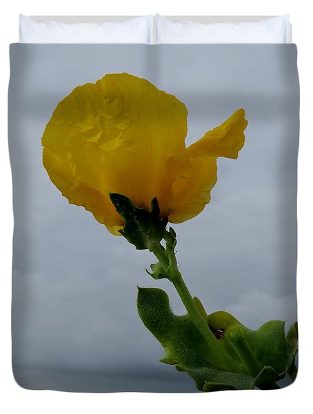 Horned Poppy Duvet Cover