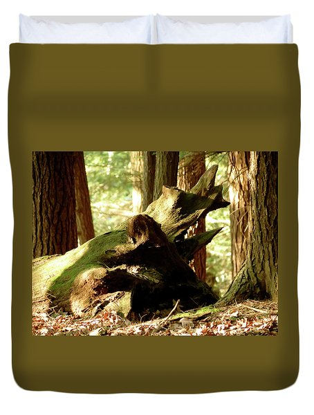 Horned Tree Duvet Cover