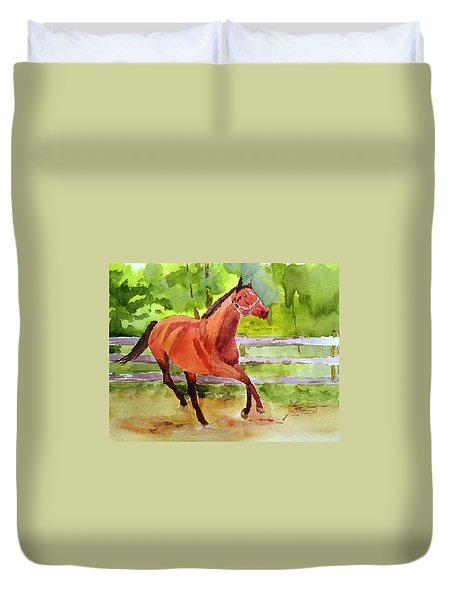 Horse #3 Duvet Cover