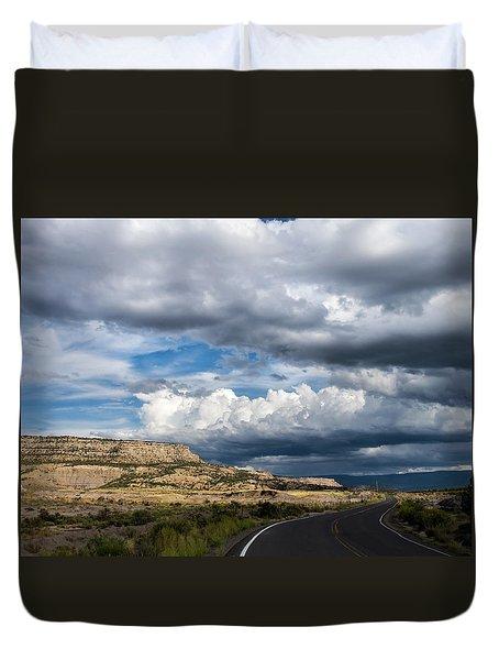 Horse Canyon By De Beque Colorado Duvet Cover