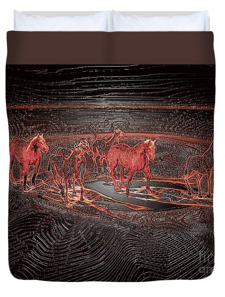 Horse Chestnut Pass Duvet Cover