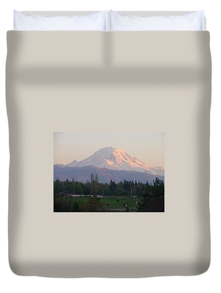 Horse Country Duvet Cover