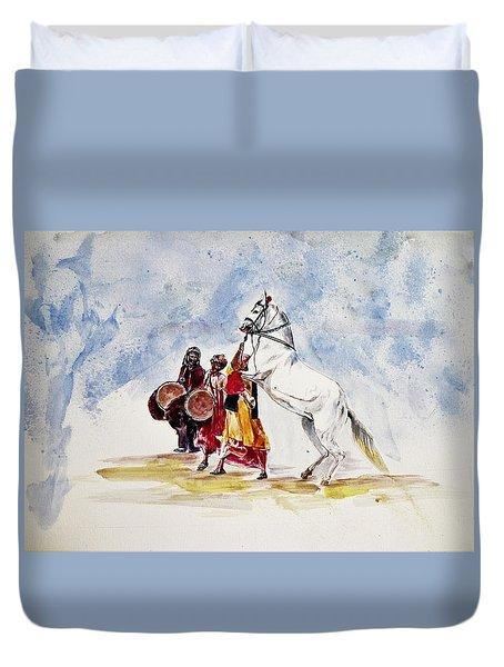 Horse Dance Duvet Cover
