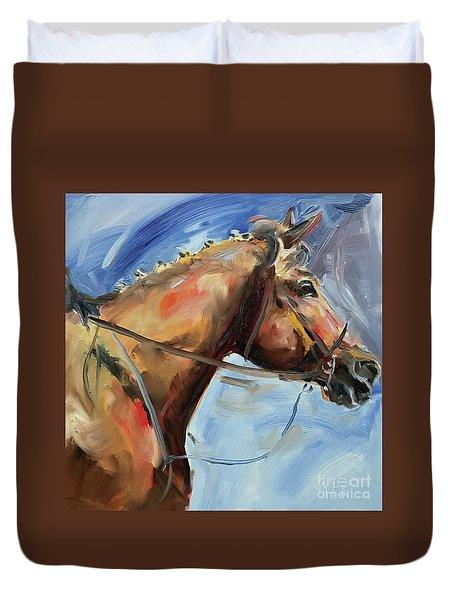 Horse Head Study Duvet Cover