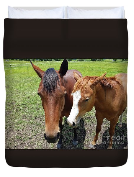 Horse Love Duvet Cover