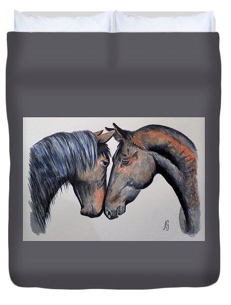Horse Lovers Duvet Cover