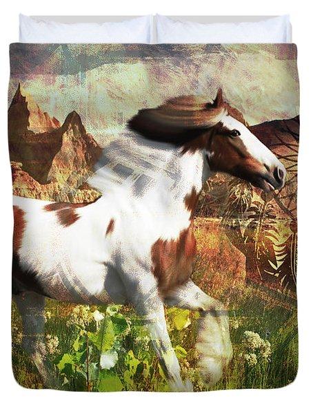 Horse Medicine 2015 Duvet Cover