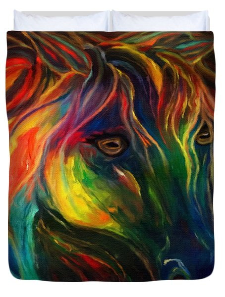 Horse Of Hope Duvet Cover