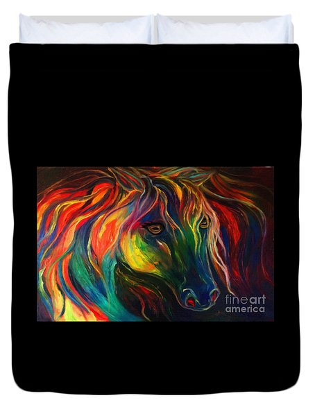 Horse Of Hope Duvet Cover