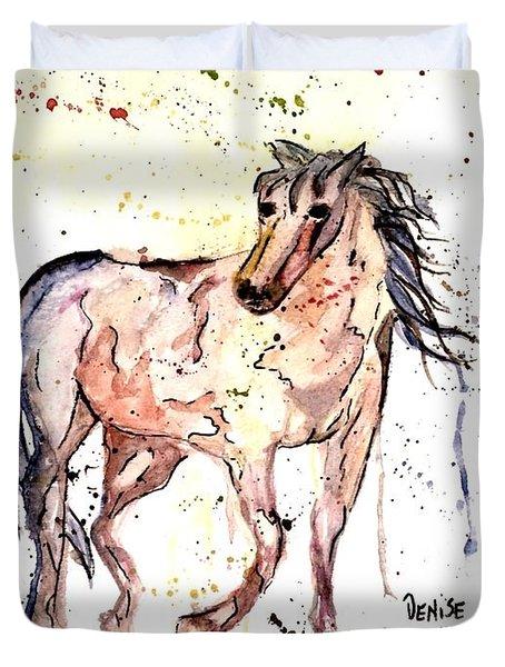 Horse Seekers Duvet Cover
