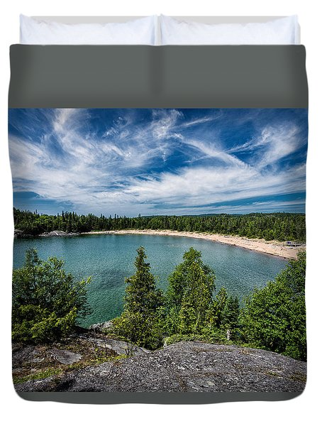 Horse Shoe Bay Duvet Cover